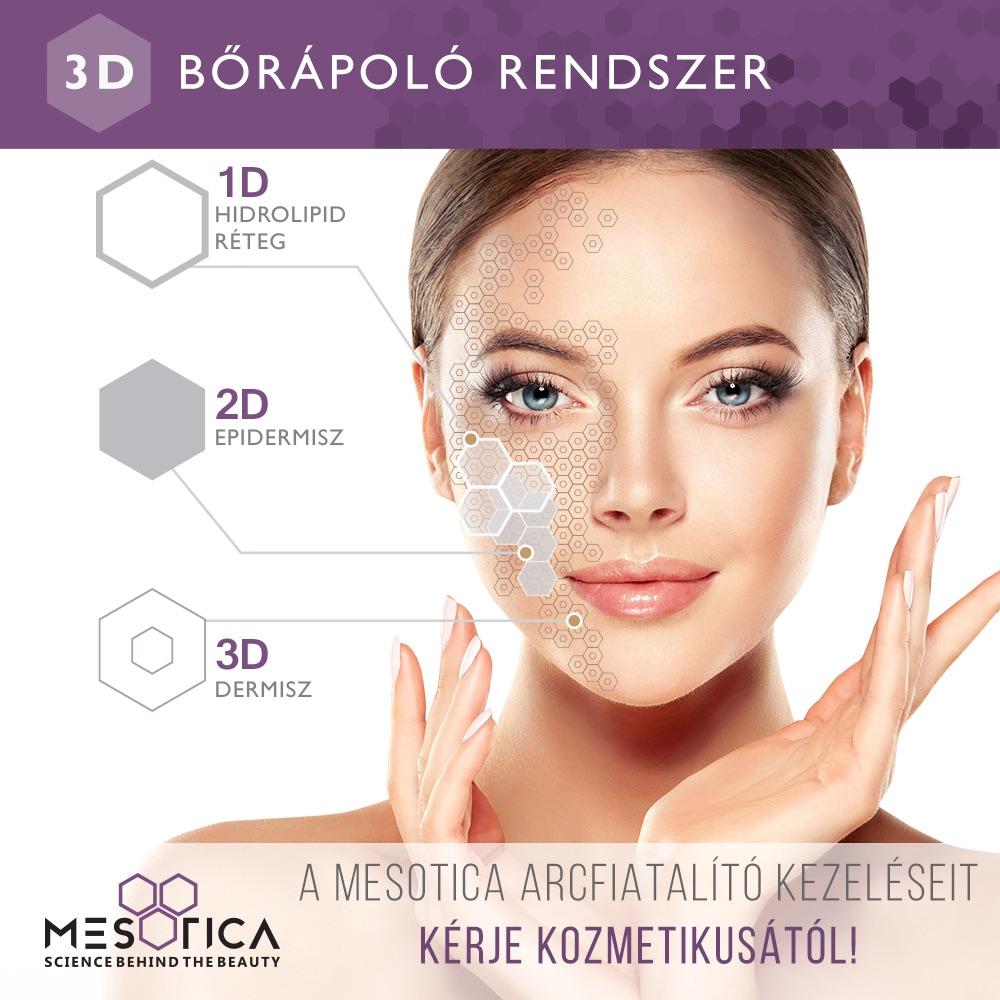 3D bőrápoló rendszer